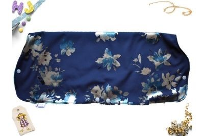 Click to order  Juice Muff Blue Flowers Softshell now